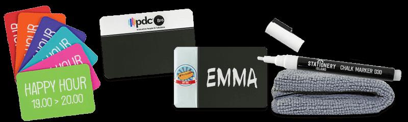 Chalkboard Badges