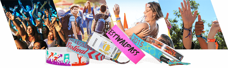 Wristbands for Festivals & Concerts