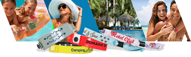 Wristbands for Hotels & Campsites