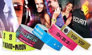 Wristbands for Nightclubs & Bars