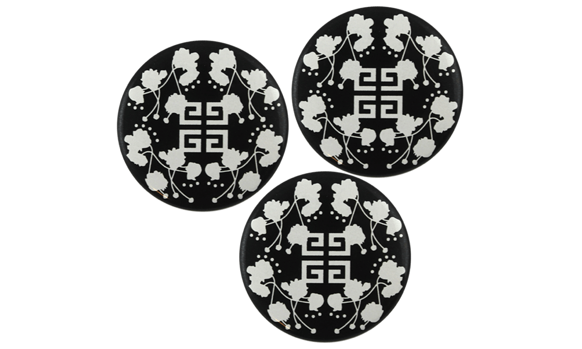Button badges 38mm, round