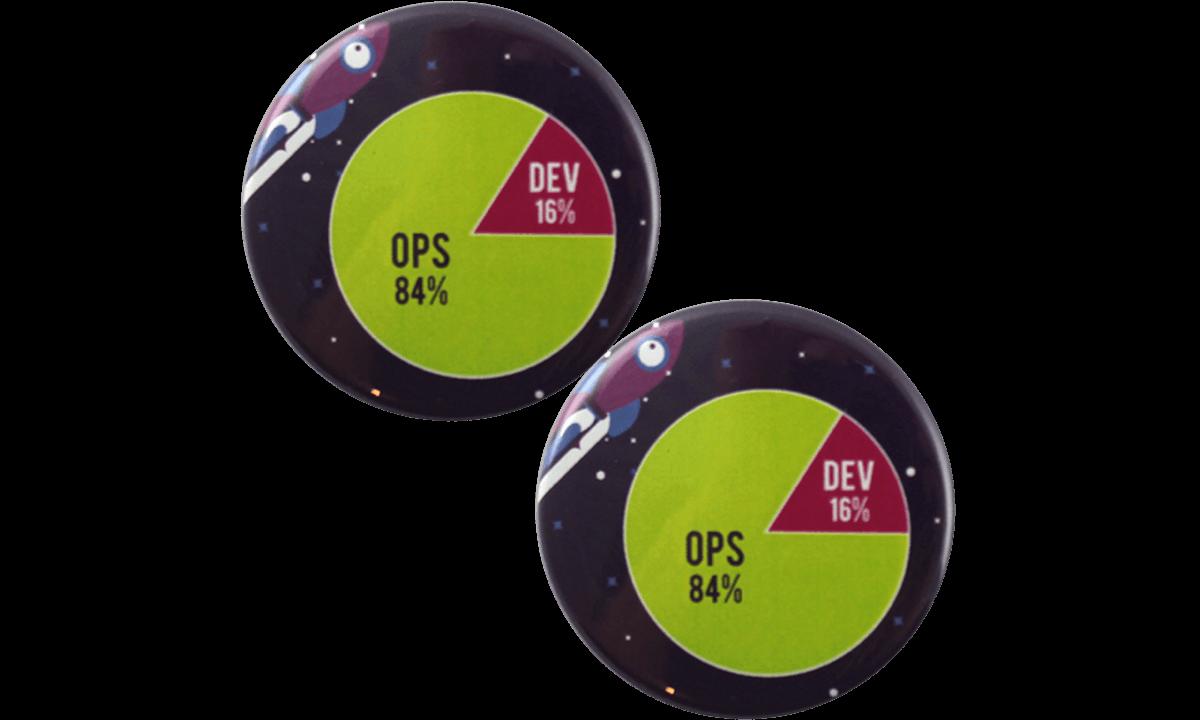 Button badges 45mm, round