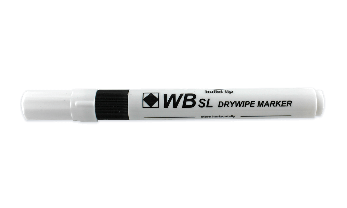 Dry Wipe Marker - Black