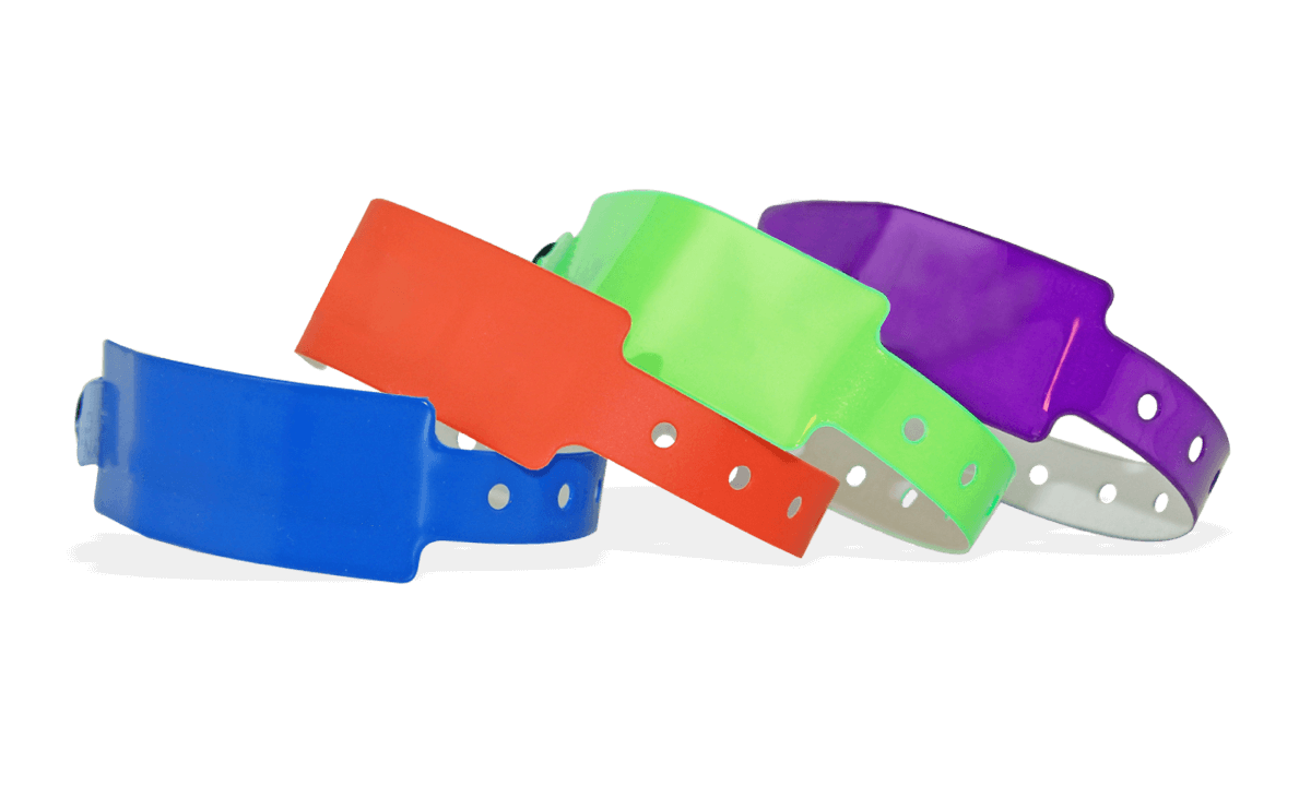 Vinyl wristbands 25 mm