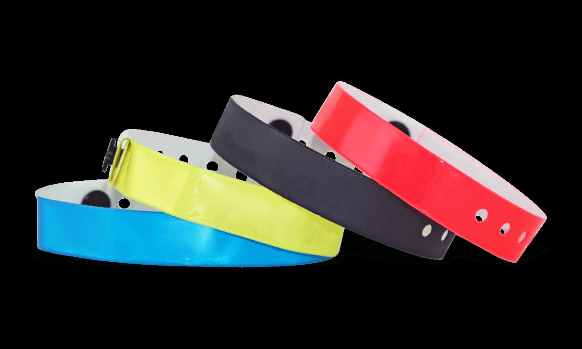 Vinyl wristbands 13 mm