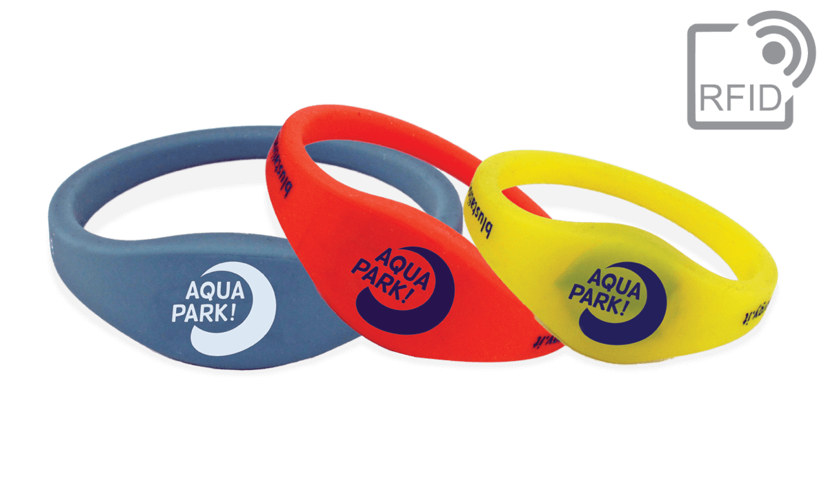 PDC Smart® Rewearable Silicone wristbands