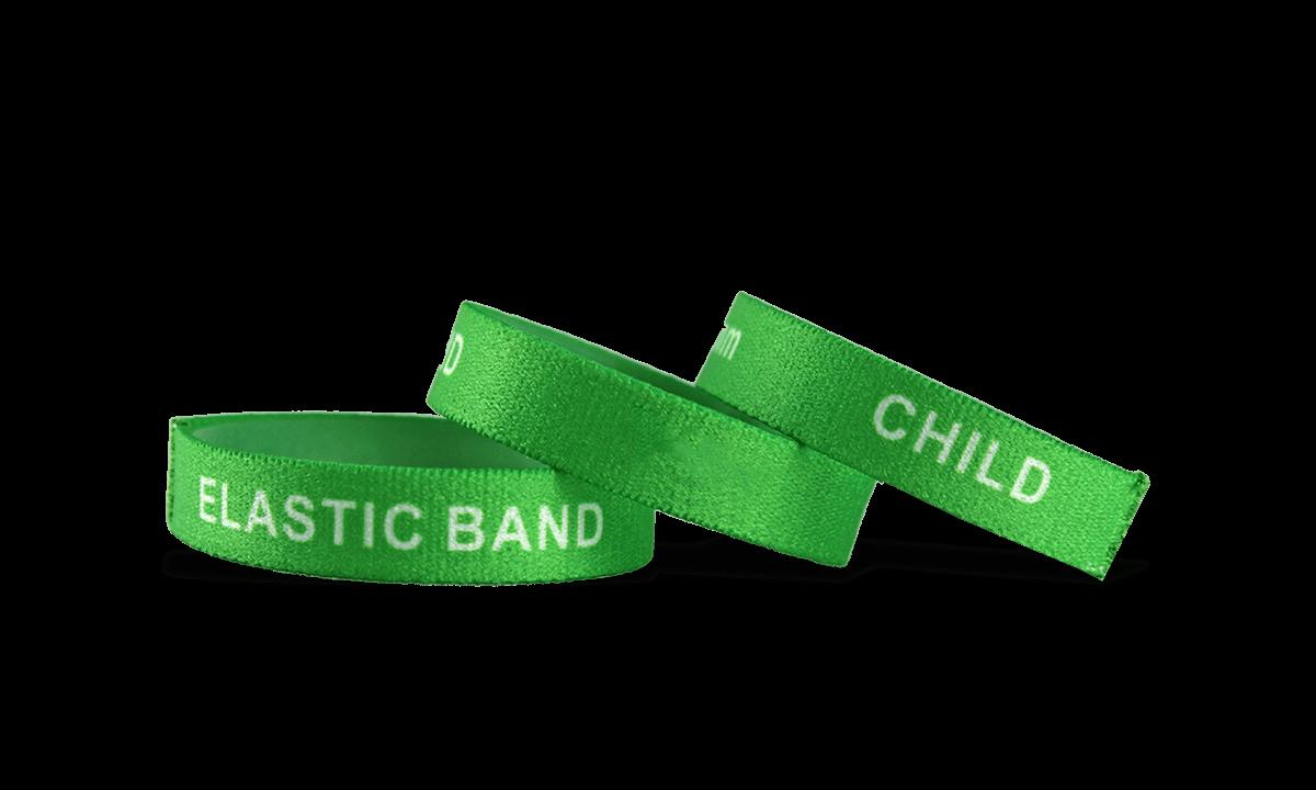 Custom Stretch Wristbands, Small Size