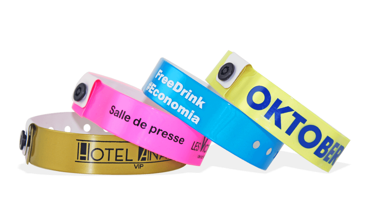 Custom Vinyl Wristbands, 19 mm