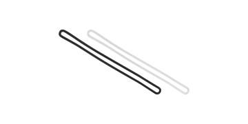 Flexible Plastic Loop Strap - 152 mm