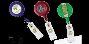 Express Custom Round Badge-Reel
