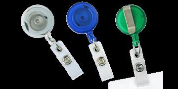 Round Translucent Badge-Reel