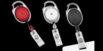 Premium Carabiner Badge-Reel