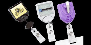 Custom Twist-Free B-Reel® Badge-Reel with Swivel Snap Clip