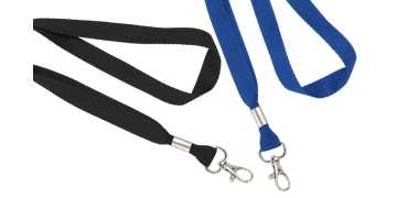 Flat 16mm Lanyards with Trigger Hook