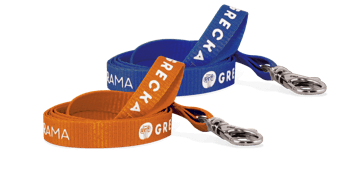 Custom 10mm Flat Lanyard - One Colour Print