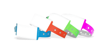 Write-on Vinyl wristbands 25 mm