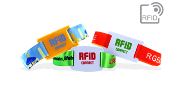 PDC Smart® Fabric Wristbands with RFID Slider