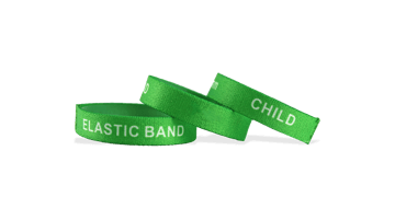 Custom Stretch Wristbands, Small Size