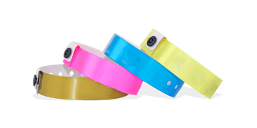 Plain Vinyl Wristbands, 19 mm