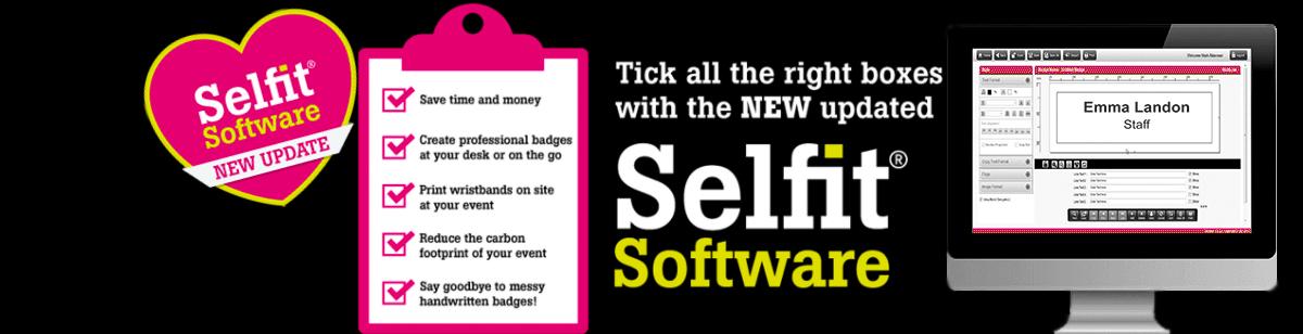 Selfit Name Badge System   PDC BIG UK